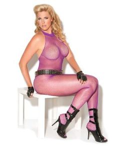 Vivace Fishnet Bodystocking By Elegant Moments, What a great color for this spring weather! $15.00