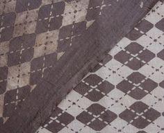 Sold By Yard Dabu Block Printed Cotton Fabric by handprintedshop