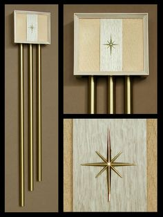 Vintage Door Chimes—Miami Carey. Gorgeous! Stupid expensive though, from EurekaModern.