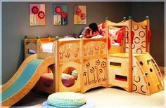 Play bunk bed for Toddlers