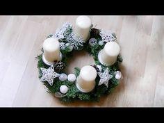 Adventskranz selber machen I DIY I Bastelanleitung I TheBuchFreundin, My Crafts and DIY Projects Winter Christmas, Christmas Crafts, Advent Wreath, Diy Projects, Wreaths, Wreath Ideas, Google, Youtube, Advent