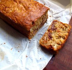 Gluten Free Banana and Chocolate Loaf