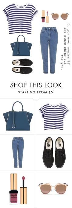 """Baby doll"" by namelessele on Polyvore featuring moda, Fendi, H&M, Topshop, Vans, Yves Saint Laurent e Christian Dior"