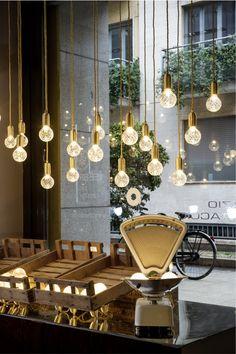 Lee Broom´s Crystal Bulb Shop