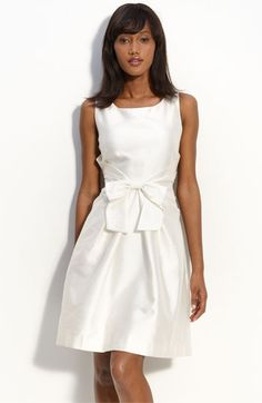 kate spade new york 'jillian' bow front dress