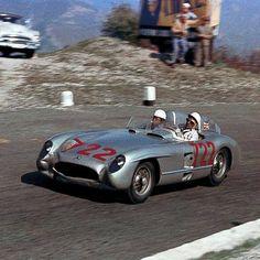 1955 Mille Miglia  Stirling Moss-Dennis Jenkinson Mercedes-Benz 300 SLR