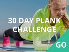30 day plank challenge #30DFC #Plank #Exercise