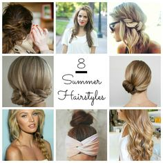Style Love // Summer Hair / Modern Vintage Style Blog   Lily and Violet