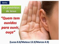 """O AVISO DE DEUS 1: """"Muitos quererão voltar atrás, mas não poderão""""  Mateus 13:14 E neles se cumpre a profecia de Isaías, que diz: Ouvindo, ouvireis, mas não compreendereis,e, vendo, vereis, mas não percebereis."""