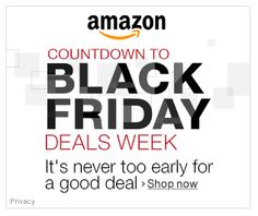 Amazon Black Friday Deals   #BlackFriday