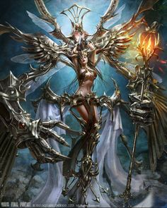 View an image titled 'Mateus Art' in our Mobius Final Fantasy art gallery featuring official character designs, concept art, and promo pictures. Fantasy Women, Fantasy Girl, Dark Fantasy, Vampires, Mobius Final Fantasy, Final Fantasy Artwork, Fantasy Armor, Fantastic Art, Awesome