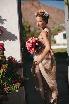 FRIDA-KAHLO-STYLE-SHOOT-BY-ALEJANDRA-VIDALE INSPIRATION featured on http://weddingnouveau.com