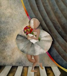 Graciela Rodo Boulanger was born in 1935 in La Paz, Bolivia, and grew up in Oruro, a city 200 kilometers south of La Paz that has for ye. Dance Paintings, Great Paintings, Dance Poses, First Art, Color Shapes, Love Her Style, Great Artists, Folk Art, Ballet