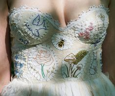 *My dresses are eco-friendly, carefully handmade with all recycled materials. No two are alike. Others may copy my Meadow dress design, but my