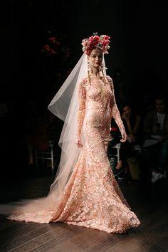 Naeem Khan Bridal Fall 2016 / Photo: The LANE