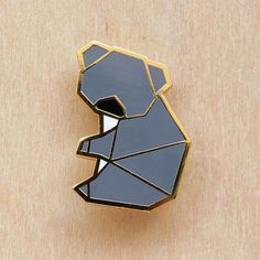 Image of Origami pins: Koala Bear