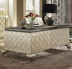 Hollywood Swank Cavier Desk From Michael Amini and Jane Seymour's Design Collection: Put some old Hollywood style and pure elegance in your home with this beautiful desk. - See more at: http://www.exoticexcess.com/decor/hollywood-swank-cavier-desk-from-michael-amini-and-jane-seymours-design-collection/#sthash.FzDVs8iq.dpuf