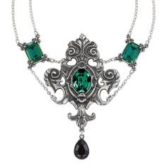 Queen of the Night Necklace - New Age, Spiritual Gifts, Yoga, Wicca, Gothic, Reiki, Celtic, Crystal, Tarot at Pyramid Collection