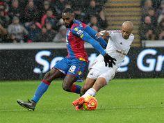 Swansea City 1-1 Crystal Palace