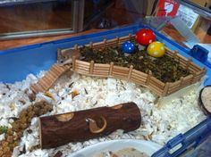 Project IKEA - Platform/Level - Hamster Central! Awesome idea, definitely rainy weekend project with the kids
