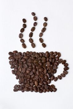 Pearls of coffee