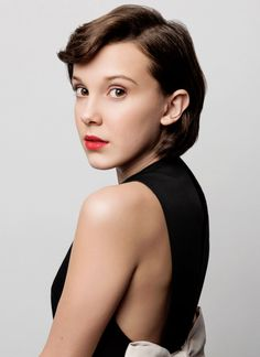 Millie Bobby Brown photographed by William Callan (BAFTA Tea Party 2017).