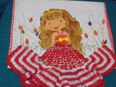 Blog de artezanatos :Artezanatos, Pano de prato boneca