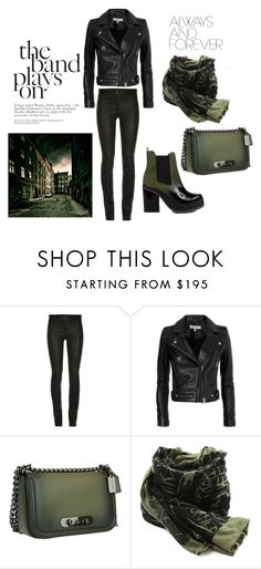 """My way"" by ena07-dlxx ❤ liked on Polyvore featuring Miista, ElleSD, IRO, Coach and Alexander McQueen"