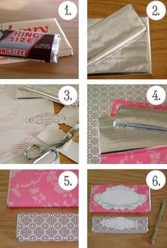 Make your own candy bar favors.  Use wrapping paper to save money.