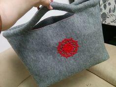 Felt bag Handmade