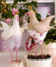 Decora tu cocina con gallinitas : cositasconmesh