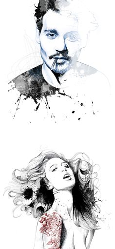 Illustrations by David Despau | Inspiration Grid | Design Inspiration