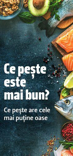 Ce pește este mai bun - ce pește are cele mai puține oase Avocado Toast, Food And Drink, Fish, Cooking, Breakfast, Ethnic Recipes, Diet, Fine Dining, Food