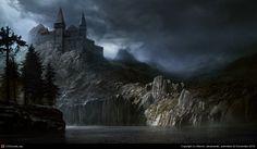 Rock Fortress by Marcin Jakubowski | 2D | CGSociety
