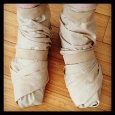 Princess Mononoke Cosplay - San's Shoes
