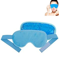 FoMI Gel Bead Eye Mask Cold Therapy Dual Sided For Perfect Temperature Ultimate Comfort ** Read more reviews of the product by visiting the link on the image.
