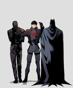 Superhero Family, Superhero Design, Batman Family, Marvel Dc Movies, Marvel Characters, Batman Red Hood, Jinx League Of Legends, Tim Drake Red Robin, Red Hood Jason Todd