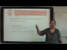 Begrijpend Lezen: signaalwoorden - YouTube
