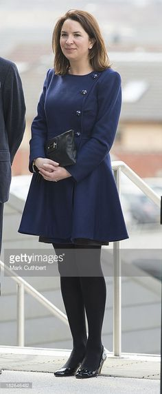 Rebecca Deacon, (private secretary to Catherine, Duchess of Cambridge) during a visit by Prince William and Catherine, Duchess of Cambridge to Glasgow on April 4, 2013 in , United Kingdom.