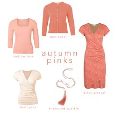 Dusty greyish pinks can be your worst colour enemy, but choose a version with a hint of warmth to it and you've got your perfect pink. Peachy and coral toned pinks are always going to work best on Autumns, or go for full on coral if you fancy a brighter option.