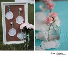 Paper Doily wedding decor & inspiration