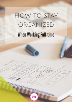 May 2018 - How you can stay organized working full time by delegating, meal planning, using one calendar, getting your kids to help and more. Working Mom Schedule, Working Mom Tips, Working Hard, Organized Mom, Staying Organized, Organised Life, To Do Planner, Arc Planner, Happy Planner