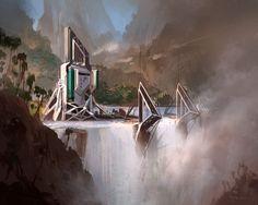 environments: sci fi - Annis Naeem Design