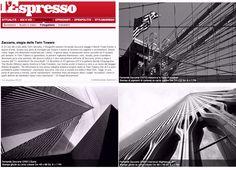 un articolo di Filippo Brunamonti pubblicato su L'Espresso, dedicato alla mostra in galleria.