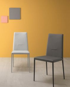 Cherie, Modern Dining Chair In Leather Or Eco Leather By Compar  #modernfurniture #