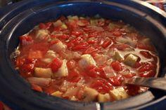 Frugal Recipes: Slow Cooker Eat-Those-Vegetables Soup