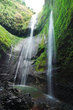Madakaripura waterfall,  Semeru, Indonesia