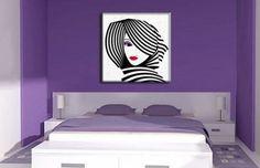 cuadros para dormitorios matrimoniales estilisados