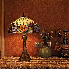 Piantana dragonfly lampada da terra in vetro stile Tiffany: Amazon.it: Illuminazione  lampada ...