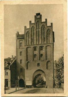 Ostpreußen, Allenstein  Hohes Tor